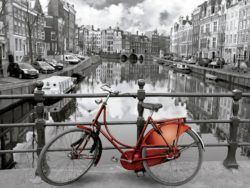 3000 AMSTERDAM COLOURED BLACK & WHITE
