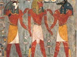 1500 RAMSES I WITH GODS OF THE UNDERWORLD