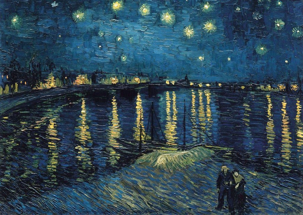 Puzzle Ravensburger 1000 piezas - Van Gogh: Noche estrellada - Puzzles tu me completas.