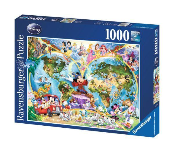 1000 MAPAMUNDI DISNEY