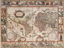MAPAMUNDI 1650