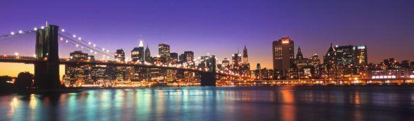 NEW YORK SKYLINE - PANORÁMA