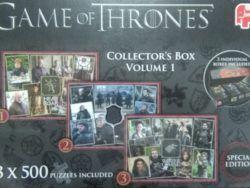 3 x 500 JUEGO DE TRONOS - VOLUMEN I