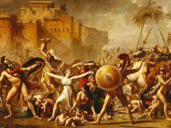 3000 DAVID: EL RAPTO DE LAS SABINAS