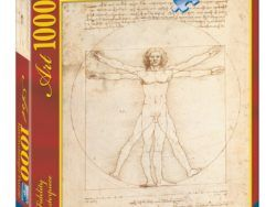 1000 LEONARDO: EL HOMBRE DE VITRUVIO