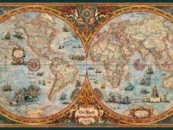 HEMISPHERE MAP PANORAMICO