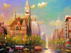 6000 NEW YORK AFTERNOON, ALEXANDER CHEN