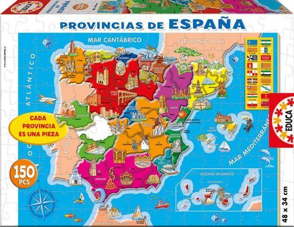 150 PROVINCIAS DE ESPAÑA