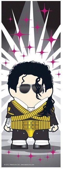 75 WEENICONS MJ