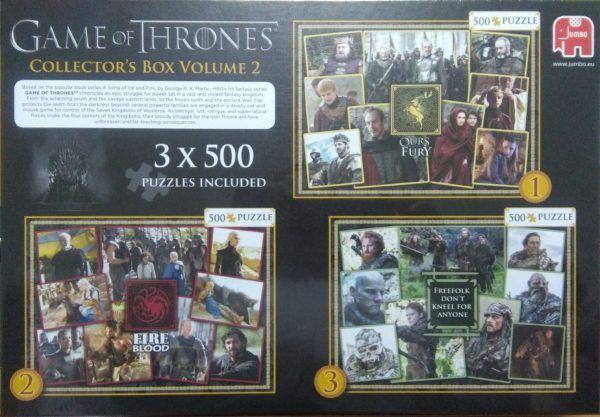 3 x 500 JUEGO DE TRONOS - VOLUMEN II
