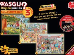 WASGIJ COLLECTOR´S BOX 3 EN 1 1000- VOL 3