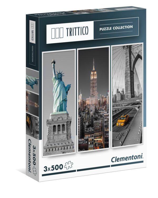 1500 NUEVA YORK (TRIPTICO 3 X 500)