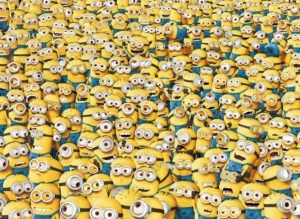 1000 IMPOSIBLE MINIONS