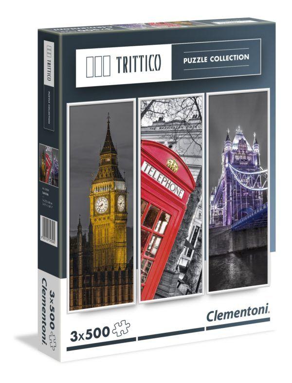 1500 LONDRES (TRIPTICO 3 X 500)