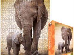 1000 ELEPHANT & BABY