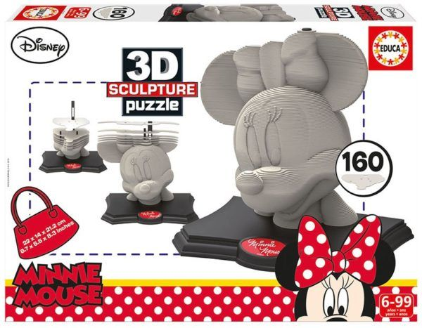 MINNIE 3D SCULPTURE PUZZLE