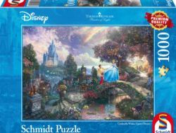 1000 THOMAS KINKADE, DISNEY CENICIENTA