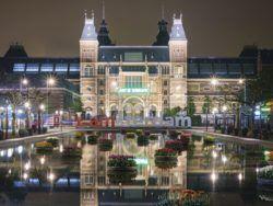 1000 EL RIJKSMUSEUM DE NOCHE, AMSTERDAM