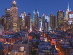 1000 SKYLINE NUEVA YORK (PANORÁMICO)