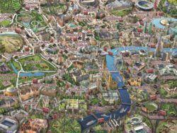 1000 MAPA DE LONDRES