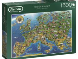 1500 MAPA DE EUROPA