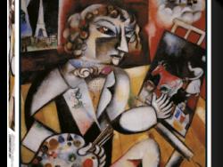 autoretrato chagall puzzle arte