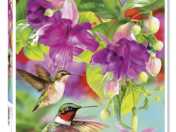 colibris puzzles de animales