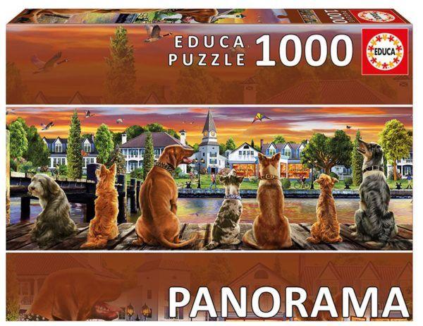 1000 PERROS EN EMBARCADERO (PANORÁMICO)