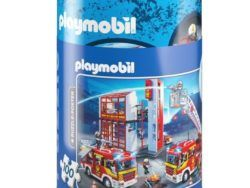 100 HUCHA METALICA PLAYMOBIL
