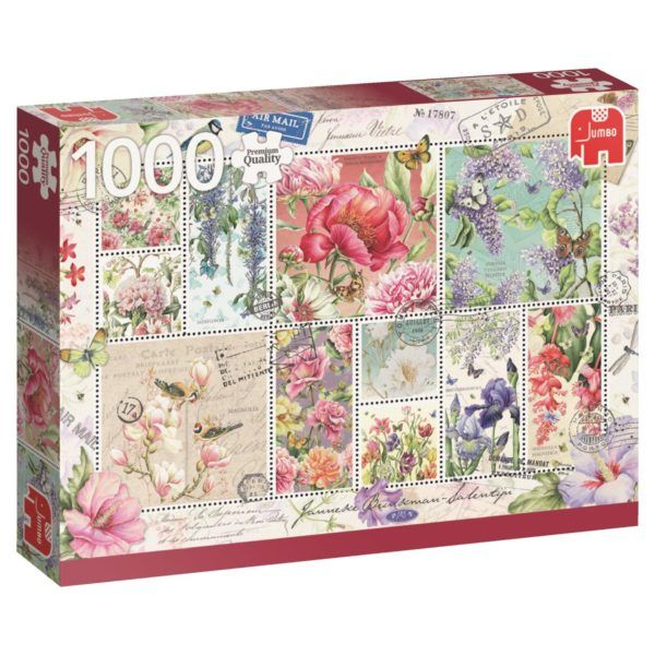 1000 - Sellos de flores