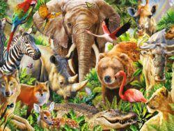 1000 MAN - Flora y fauna africana