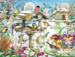 500 FALCON - Jardín en invierno