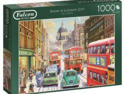 1000 FALCON - Nieve en la ciudad de Londres