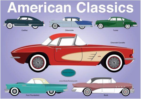 1000 CARS: AMERICAN CLASSICS