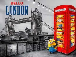 1000 Gru mi villano favorito ME3 : Bello London