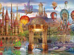 1000 Fantasia panoramica