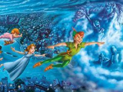 1000 Peter Pan: Night Flights, panorámico