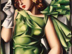 """1000 Tamara De Lempicka: """"La joven con guantes"""""""