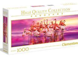 1000 Flamingo dance, panorámico