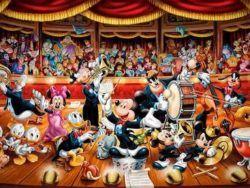 1000 Disney Orquesta, panorámico