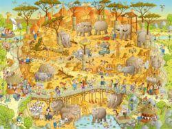 1000 AFRICAN HABITAT