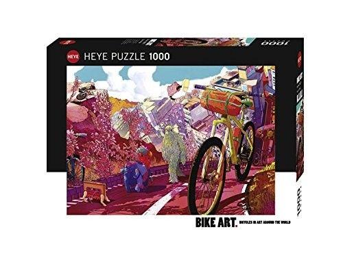 1000 BIKE ART. TOUR IN PINK