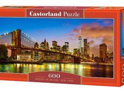 puente de brooklyn nueva york puzzle castorland 600 piezas