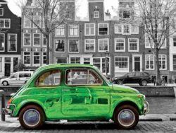 Coche en Amsterdam