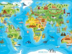 Mapamundi monumentos