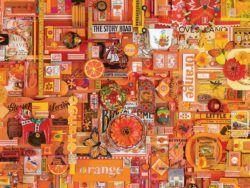 puzzle cobble hill 1000 piezas orange naranja