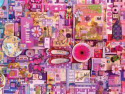 morado puzzle cobble hill 1000 piezas