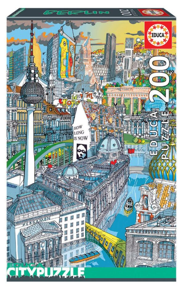 city puzzle berlin