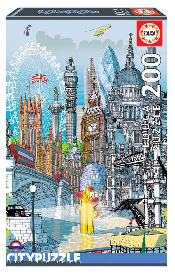 londres city puzzles