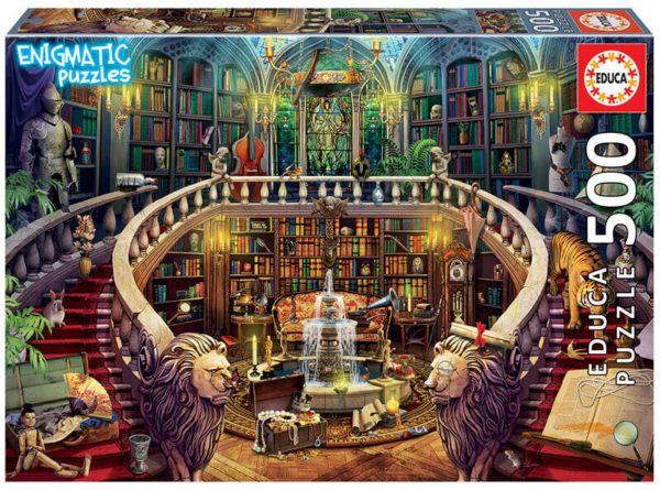 biblioteca enigmatic puzzle